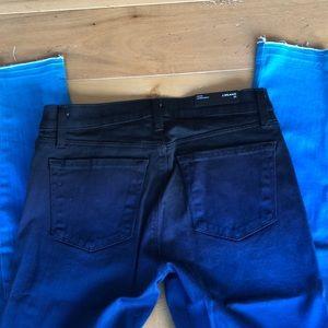 J Brand blue ombré denim